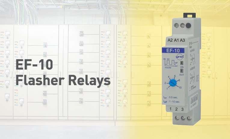 EF-10 Flasher Relays