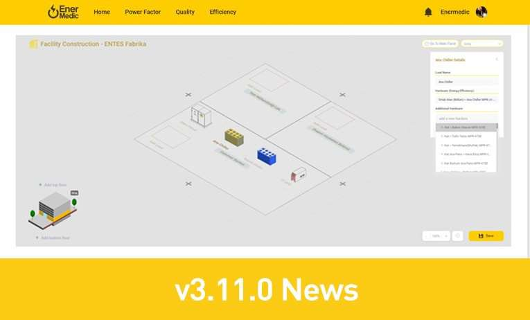 Enermedic v3.11.0 News: Now More Flexible and Easier!