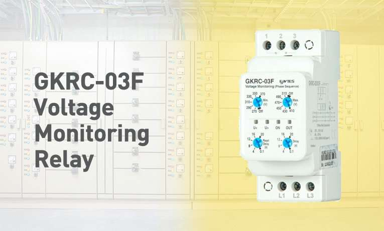 GKRC-03F Voltage Monitoring Relay