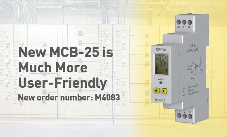 New MCB-25 is Much More User-Friendly - M4083