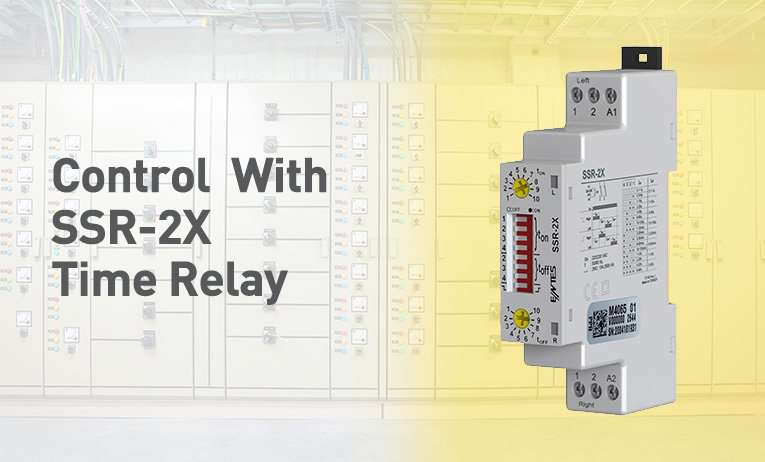 Control  With SSR-2X Time Relay