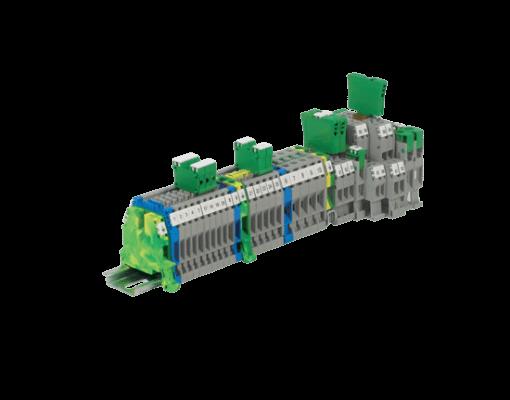 spring type terminal blocks